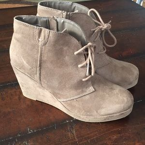 Merona Wedge Ankle Boots